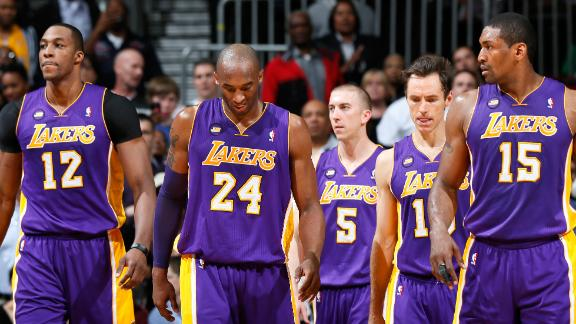 Kobe out indefinitely with severe ankle sprain