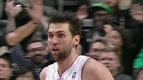 Raptors' Bargnani out for year with elbow issue