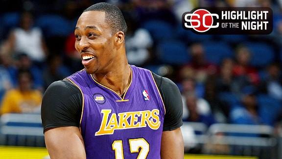 Video - Lakers Win In Howard's Return To Orlando
