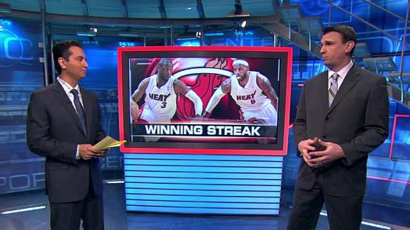 Video - Miami Heat Streaking
