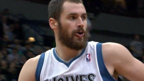 Video - Kevin Love Still A Few Weeks Away From Return