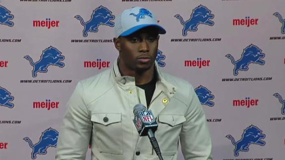 Video - Bush Hoping To Add To Lions Offense