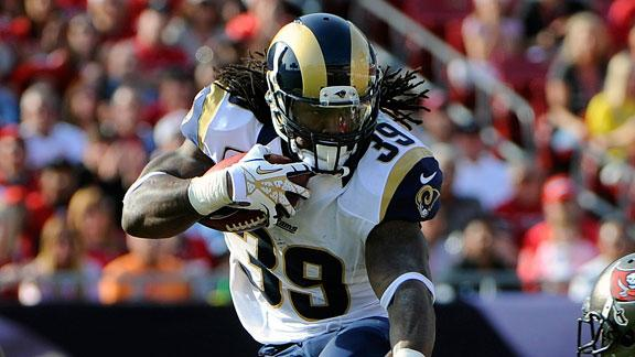 Former Rams RB Jackson to sign with Falcons