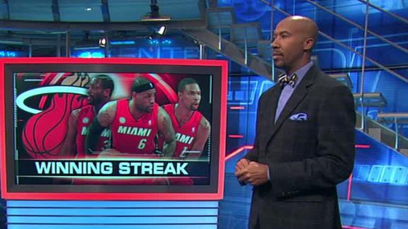 Video - When Will Heat's Streak End?