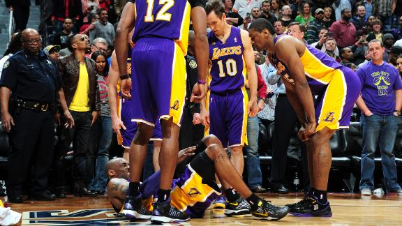 Video - Was Kobe Injured Due To Dirty Play?