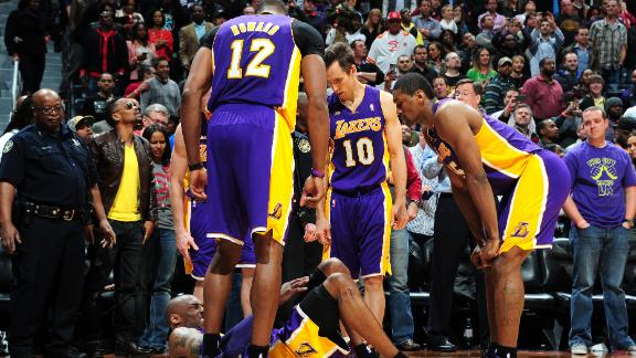 Lakers rule Kobe out for second straight game