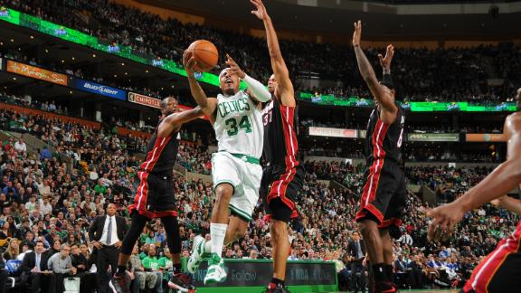 Garnett to sit for Celtics against streaking Heat