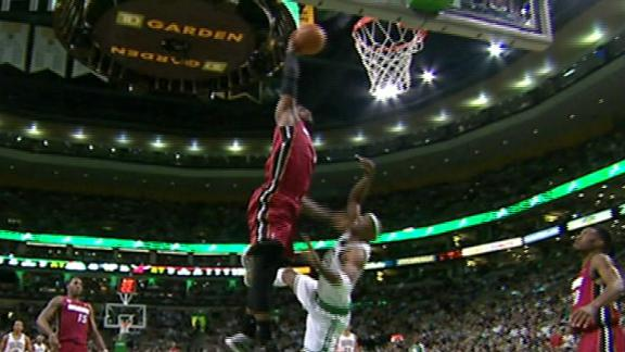 Video - LeBron James Alley-Oop Over Jason Terry