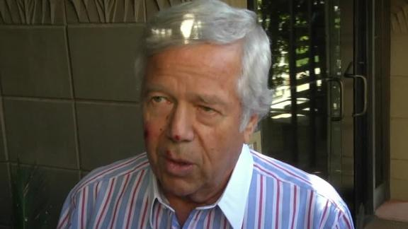 Video - Robert Kraft Reacts To The Departure Of Welker