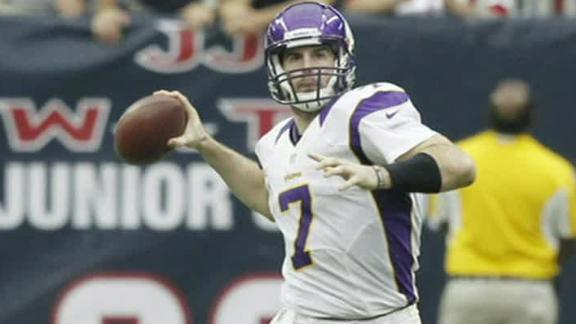 Vikings' Frazier: Ponder is our starter at QB