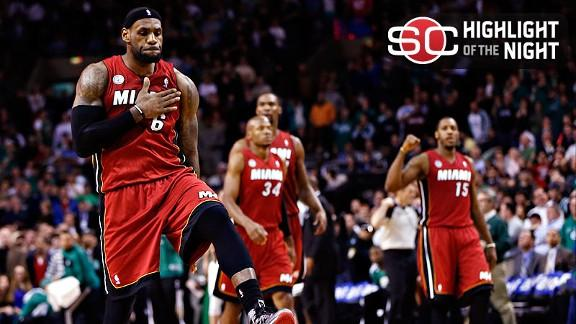 Video - Heat Rally To Keep Streak Alive