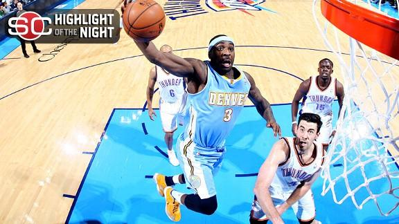 Video - Nuggets Knock Off Thunder For 13th Straight Win