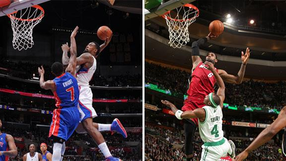 LeBron James of Miami Heat says posterizing Boston Celtics' Jas…