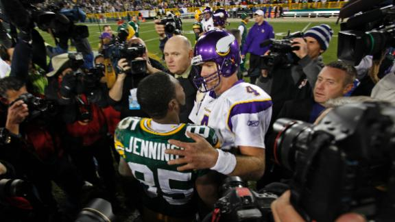 Video - Jennings Says Favre Helped Him Pick Vikings