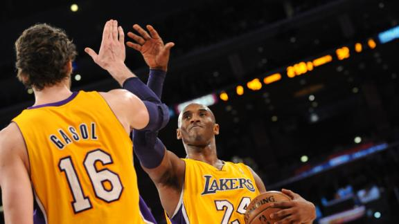 Lakers' D'Antoni hopeful Pau, Kobe back Friday