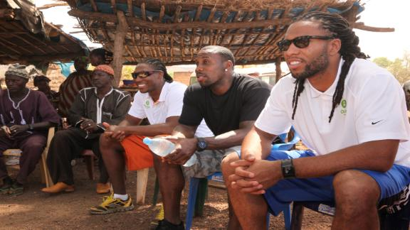 Video - Anquan Boldin Visits Sabodala, Senegal