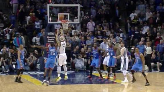 Gasol tip-in pushes Grizzlies by Thunder in OT