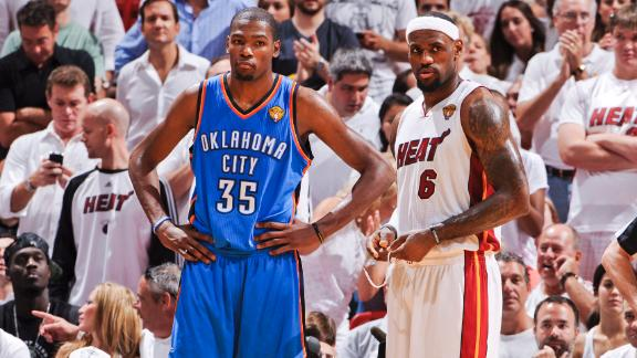 Video - Will LeBron Keep Durant Ringless?