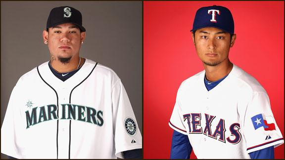 Rangers pick Harrison over Darvish for opener