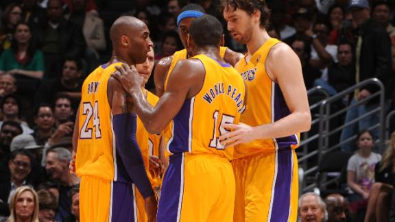 Bryant, Gasol back for Lakers