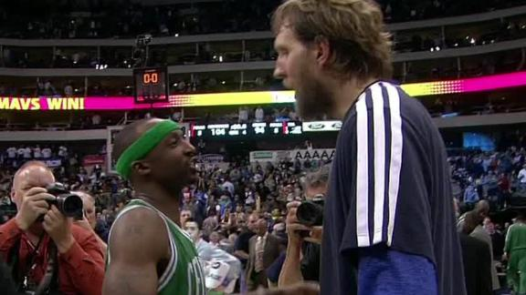 Nowitzki, Mavs spoil Terry's return, sink Celtics