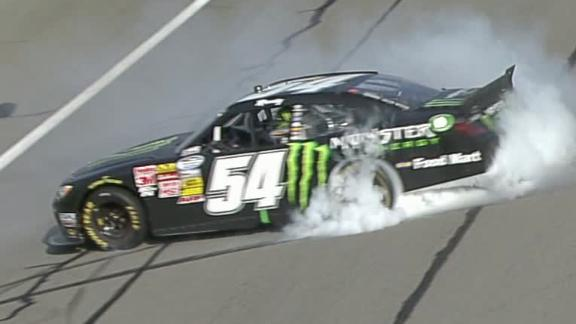 Kyle Busch Wins At California