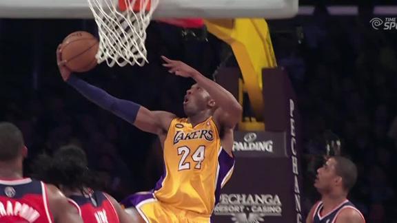 Video - Dunk Of The Night: Kobe Bryant