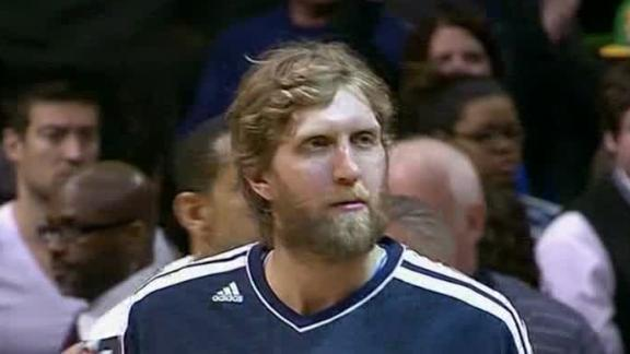 Video - Mavericks Hang On Against Jazz