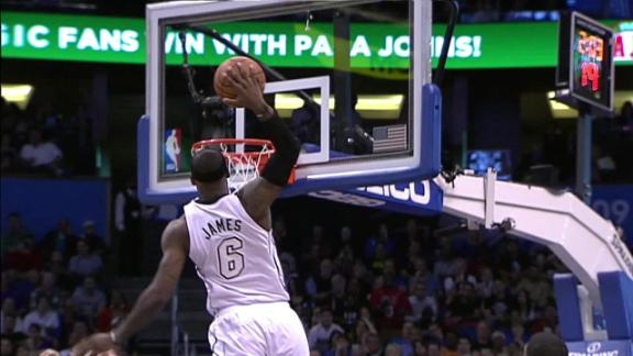 Video - Heating up against the Magic to extend the streak