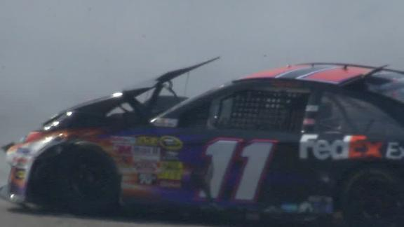 Denny Hamlin Suffers L1 Compression Fracture In Back