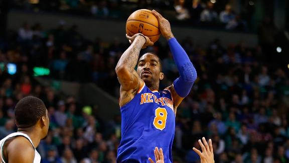 Video - J.R. Smith, Carmelo Fuel Knicks
