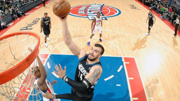 Video - Timberwolves Rout Pistons