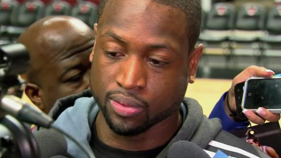 Video - Wade Plans To Play Vs. Bulls