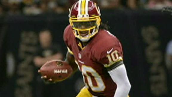 Shanahan: RG III plays only if 100 percent