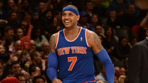 Video - Carmelo Anthony Joins SportsCenter