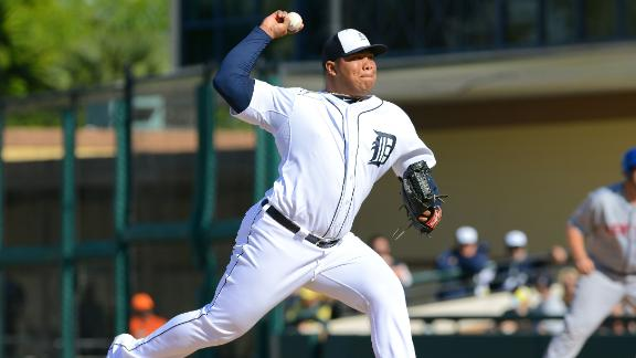 Tigers without set closer after demoting Rondon