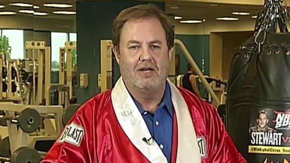 Eddie Gossage Ready For Stewart, Logano In Texas