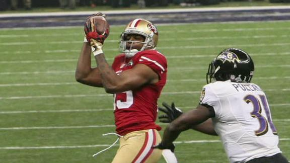 49ers WR says Super Bowl hit wiped out sight