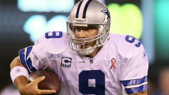 George: Romo's deal frees up $5 million in cap space; guarantee…