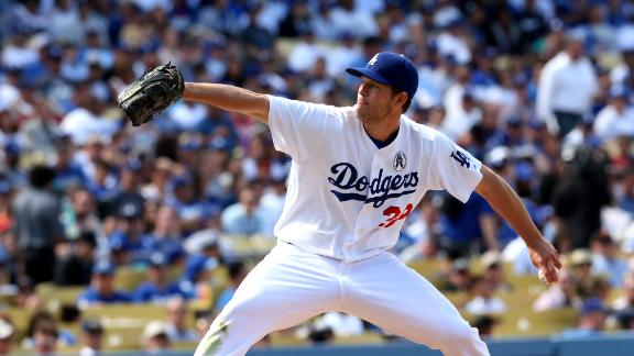Video - Kershaw Homers, Tosses Shutout