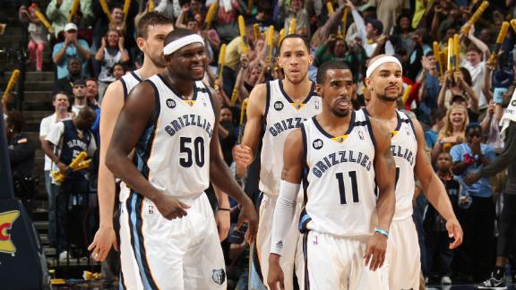Conley's bucket sends Grizzlies past Spurs