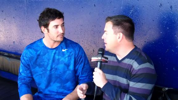 Video - Matt Harvey Ready To Take The Mound