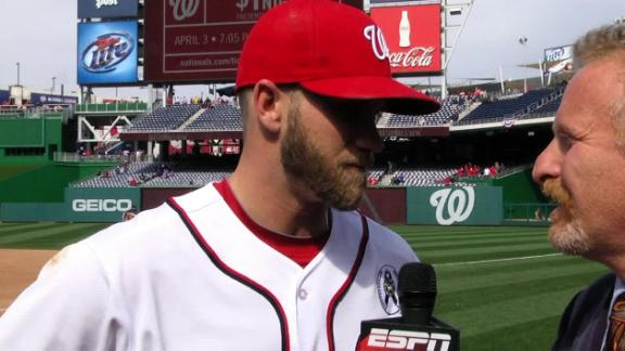 Video - Harper, Strasburg On Opening Day