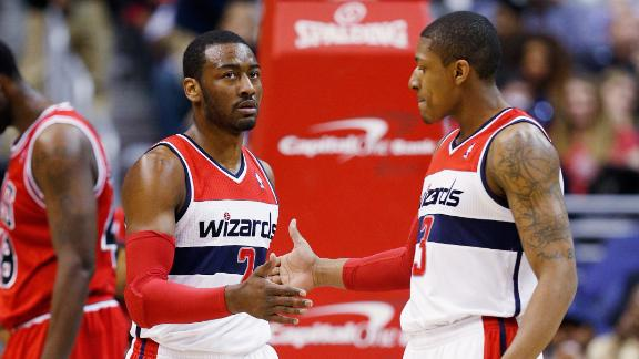 Wall, Wizards sink Bulls for 8th straight home win