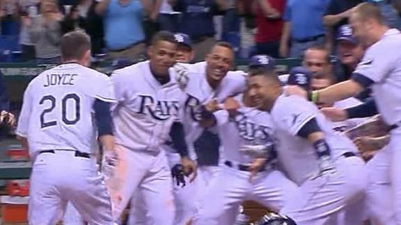 Joyce hits walk-off HR to lift Rays over O's