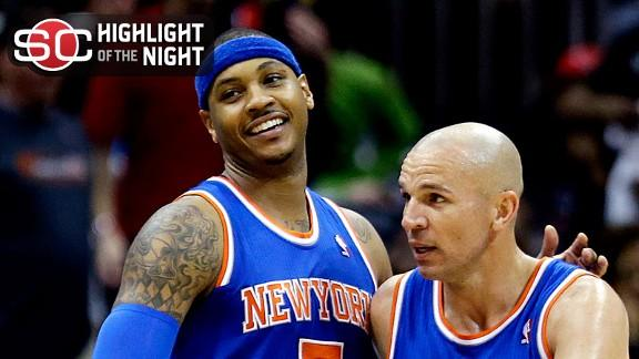 Video - Carmelo, Knicks Win 10th Straight