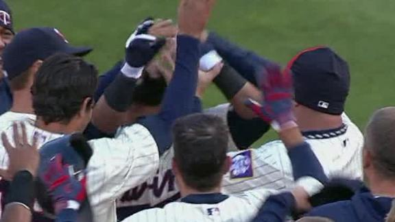 Video - Twins Walk Off