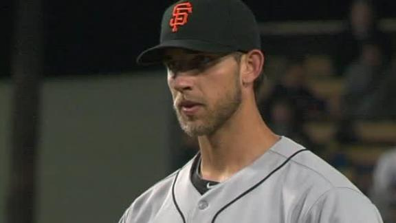 Video - Giants Blank Dodgers 3-0