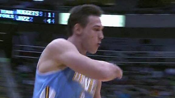 Nuggets stop Jazz's 5-game winning streak