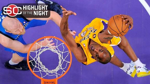 Video - Lakers Retire Shaq's Jersey, Blow By Mavs